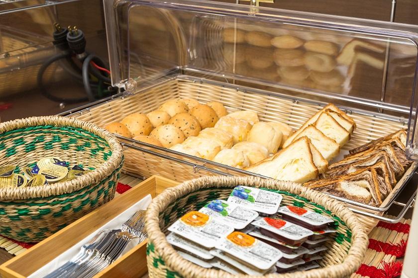 【会員】大好評▼迷ったらコレ!\1日10組様限定/となりのビュッフェ朝食が食べられる朝から満腹プラン!