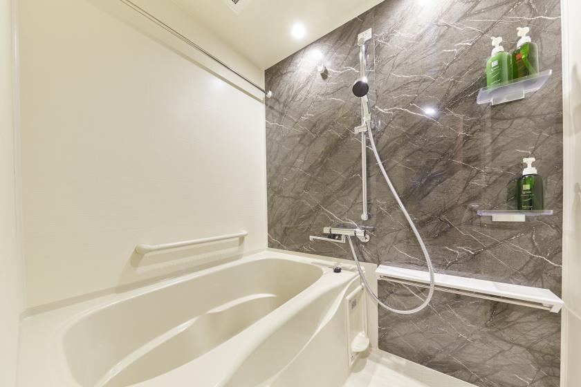 【お得に泊まろう】全室キッチン・洗濯機付!♪話題の【ミラブル】シャワーヘッドが全室完備!