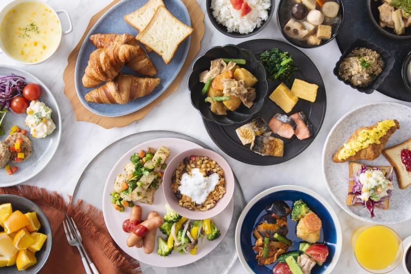 【2府4県在住の方限定】カニ、うなぎ、牛肉の日替わり豪華ちらし寿司!ビュッフェ朝食無料の限定セール!