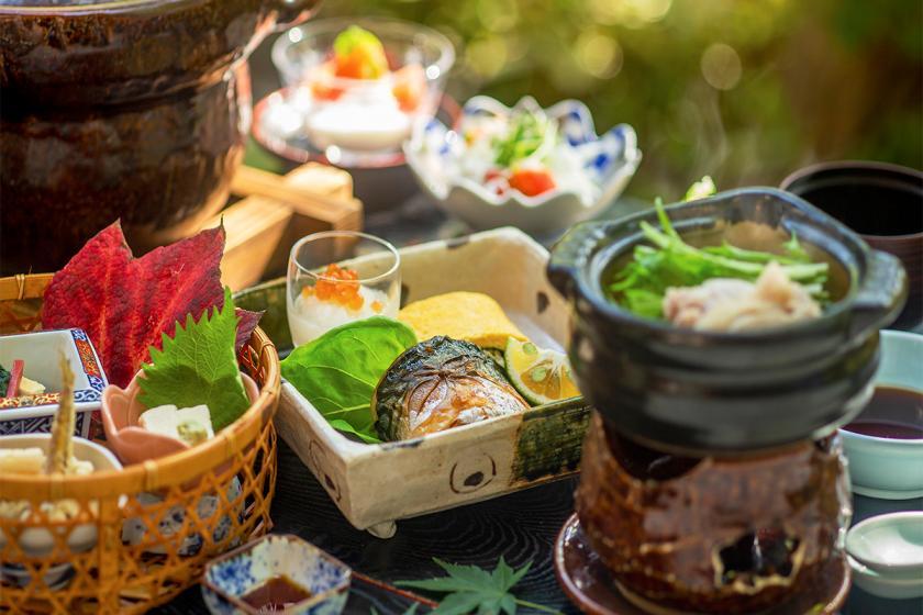 【すっぽん鍋プラン】コラーゲンたっぷり丸ごと1頭!滋養と美容と美味しさと。3つが詰まった<美食の旅>