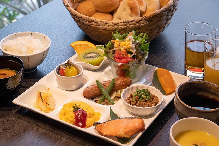 【朝食付き】季節の朝食をお楽しみいただける朝食付きプラン【宿泊】