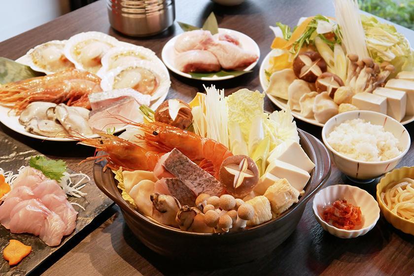 【夕食&朝食付き】季節の食材を使用したCOFFオリジナル夕食鍋プラン!【宿泊】