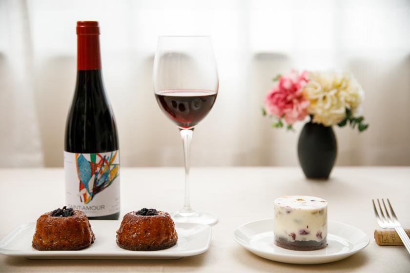 ++ CANATA 限定 ++ 【特別プラン】スイーツ&ワインのセット La Pair(ラ・ペア)× CANATA(食事なし) ◎自社予約のみ