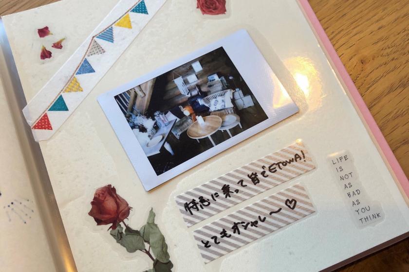 [Recommended for anniversaries] ETOWA's Memories Cheki & Handmade Album Plan