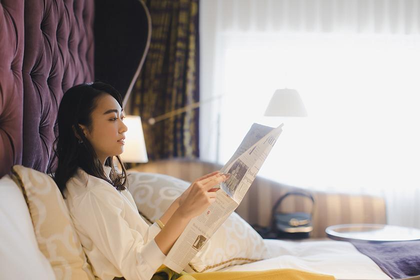 【今こそひとり旅】 一人旅応援!グランコンフォート・プレミア上位客室の滞在をお得に! ‐朝食付き‐