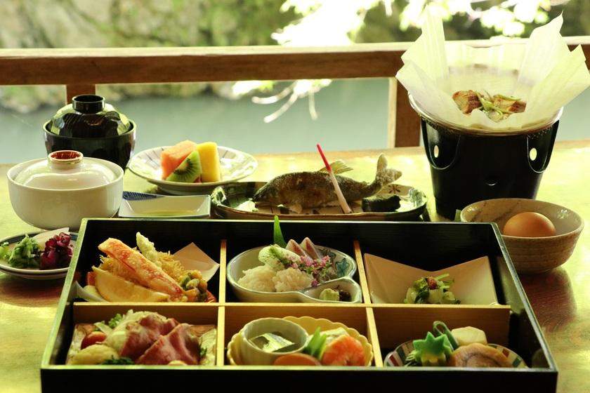 【川床プラン】 夏を楽しむ、京都高雄で憧れの川床プラン -1泊2食付き-