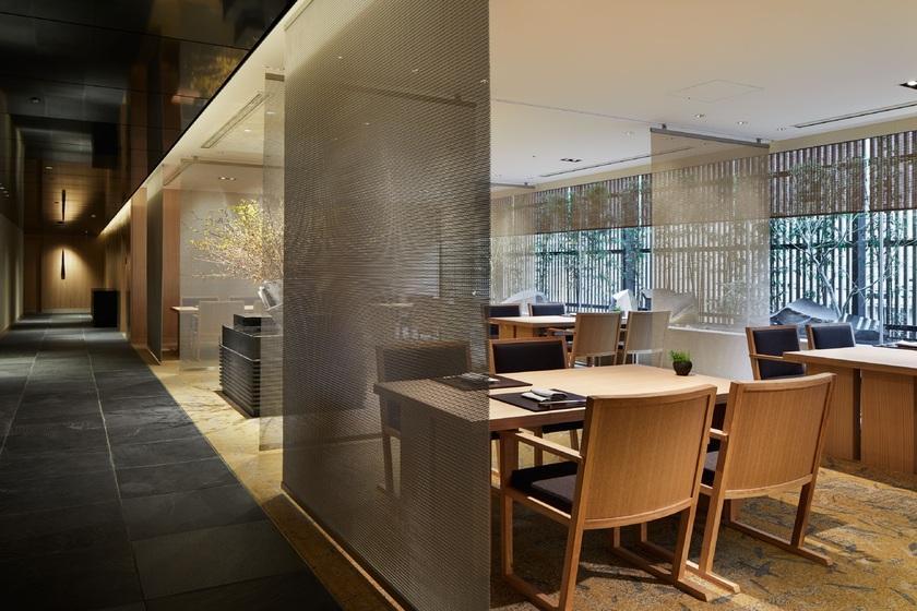 【夕朝食付きプラン】THE THOUSAND KYOTOで愉しむ夜会席コース「 kaze~かぜ~」