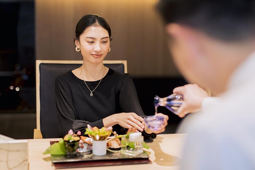【夕朝食付き】 ホテルで愉しむ夜会席コース 「 kaze~かぜ~」