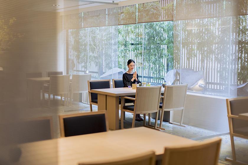 【夕朝食付き】 ホテルで愉しむ夜会席コース 「mizu~みず~」