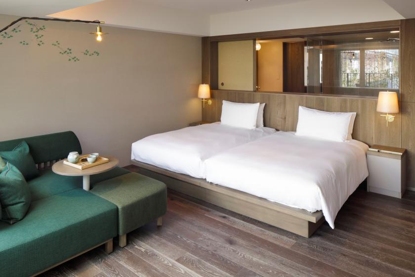 【HOTEL GLAMPING】1日2室限定★街中で癒しを。非日常を。<館内利用券3000円付・お食事なし>