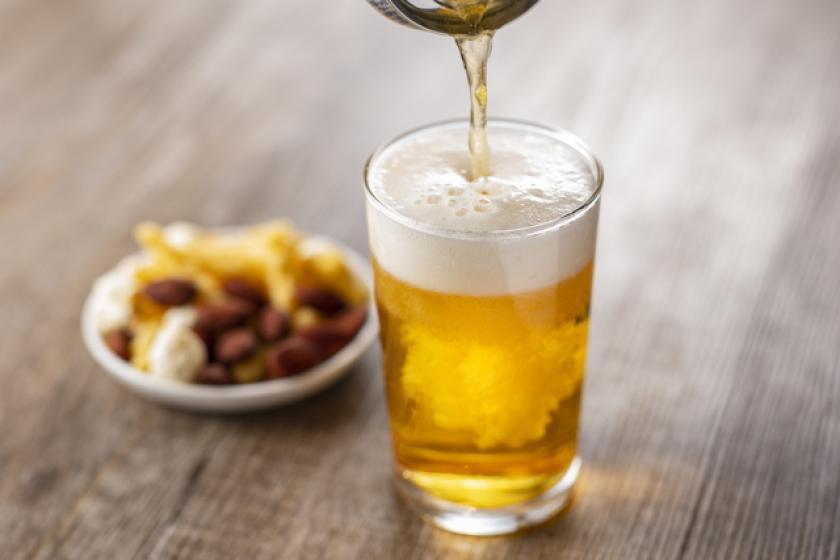 【缶ビール&おつまみセットプラン♪】朝食バイキング&駐車場付!