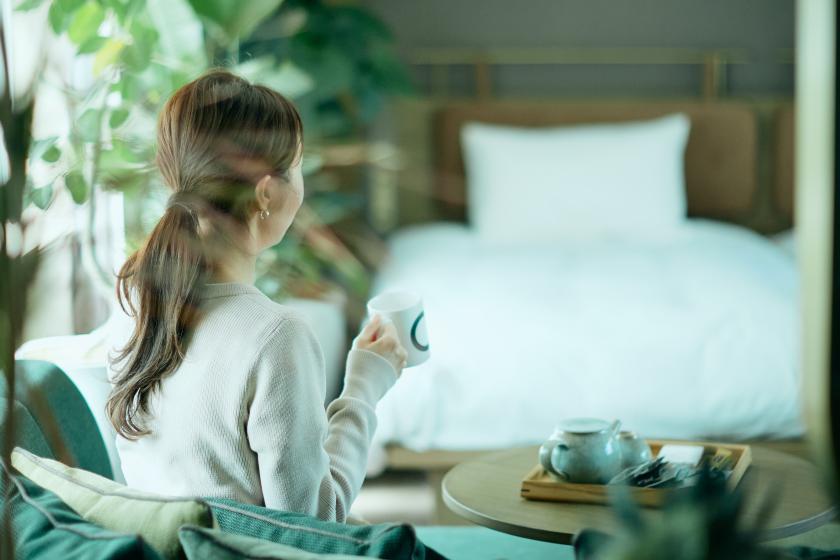 【BOTANICAL ROOM】1日1室限定!植物の力で心も身体もリラックス♪<館内利用券3000円付・お食事なし>
