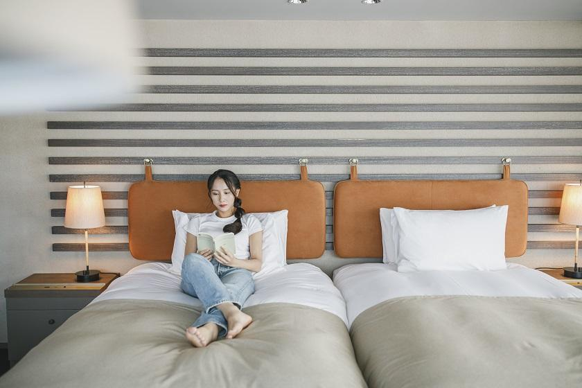 【朝ヨガ体験付】自分を見つめ、心身の元気をチャージする宿泊はいかが?<朝食付>
