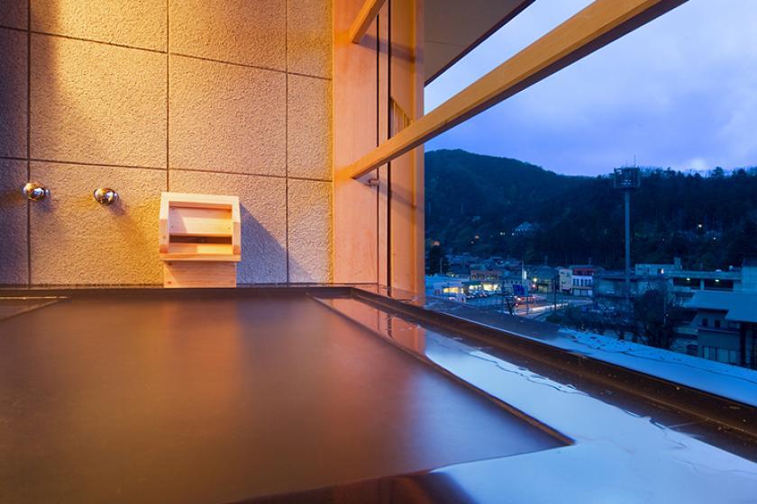 【早期90日前2,000円お得】かけ流し温泉 渓流露天風呂付客室で贅沢なひとときを
