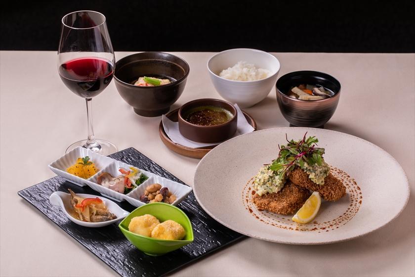 【早期のご予約がお得!30日前までのご予約限定】選べるメインの満腹ディナー+朝食(2食付)