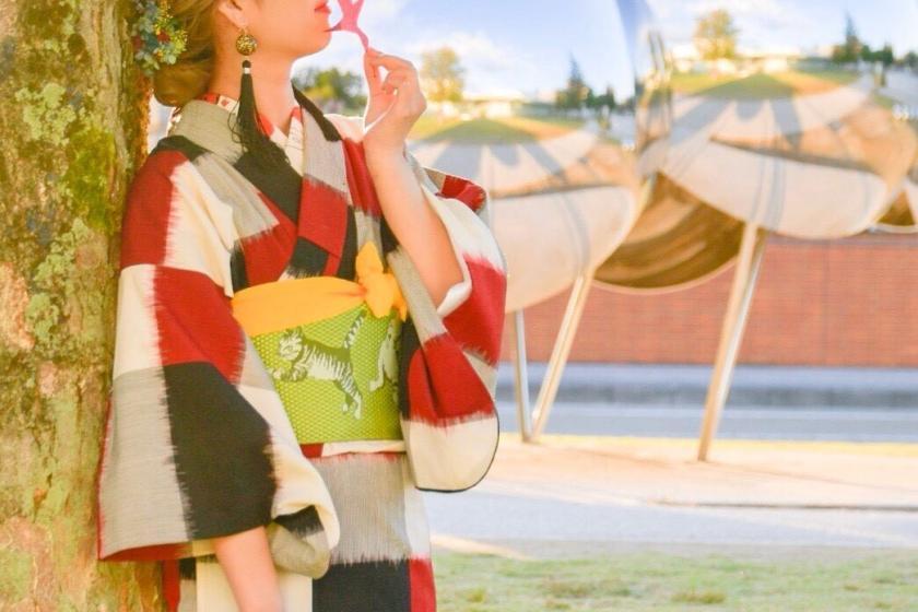 【着物でひがし茶屋街さんぽ♪】金沢女子旅に★手ぶらでお出かけプラン【全3室の町家で3密回避・朝食付】