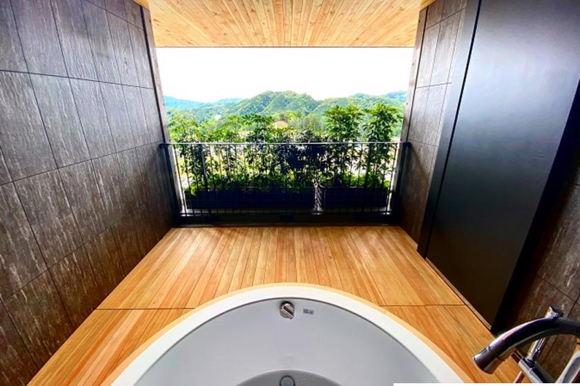 露天風呂付スイートルーム