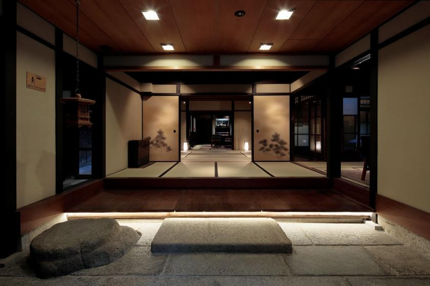 [Room type, leave it to us and stay at a great deal! ] Use the Kyomachiya, a cultural property, in the lounge. Have a relaxing time in the outdoor bath or sauna.
