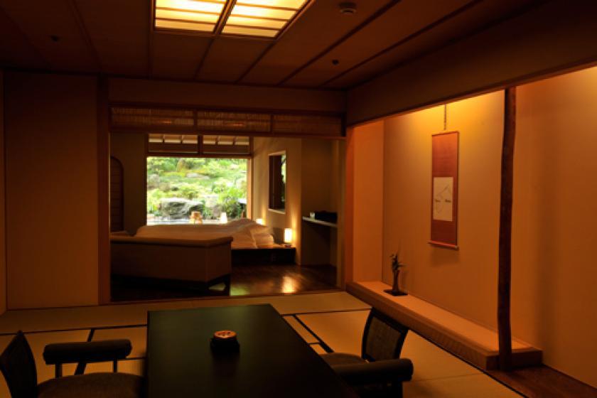 露天石風呂付貴賓室「藤・梅」