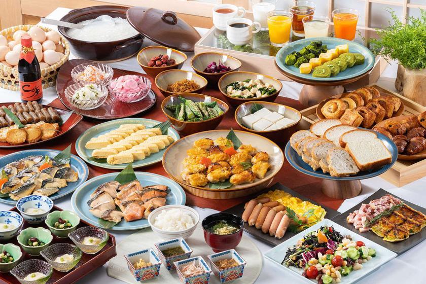 ポイントアップ☆朝食付き・レイトアウト付きプラン