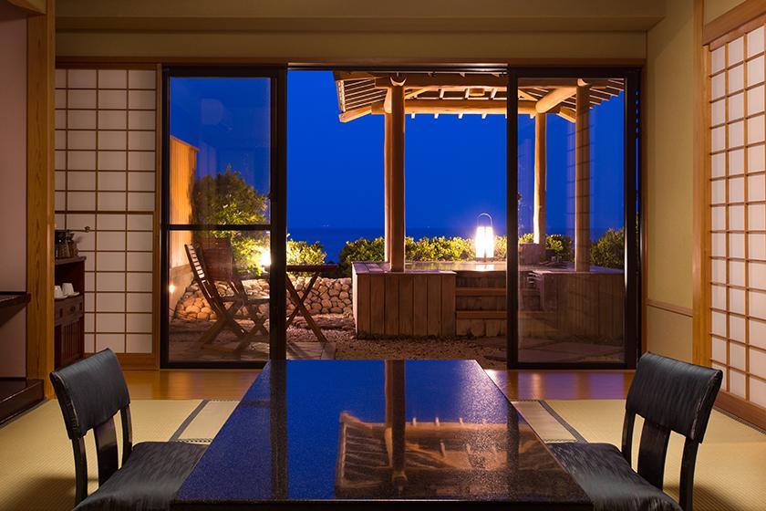【お日にち限定】「庭園露天風呂付客室」ラストサマーセール!一間スタンダードプラン+お部屋グレードアップだからこの価格