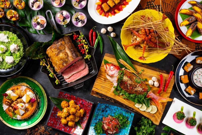 【グループホテルで選べるディナー】BBQ・バイキング・和食 グループホテルで遊んで食べて大満足!