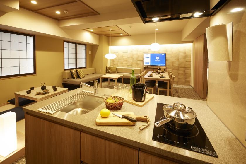 【開業記念】全室キッチン・洗濯機付!全室ミラブル完備♪(素泊まり)