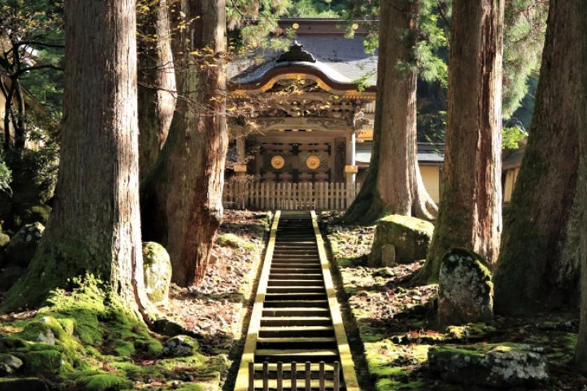 【厳かな歴史探訪と御朱印あつめ】永平寺へ行く温泉旅(山側洋室)