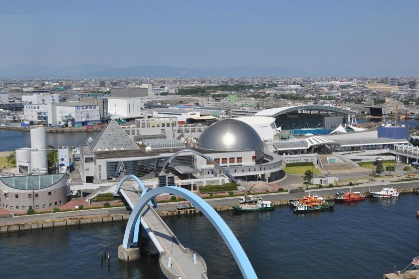 【海の仲間と冒険へ】愛知の人気観光スポット♪ 名古屋港水族館入館券付きプラン!<食事なし>
