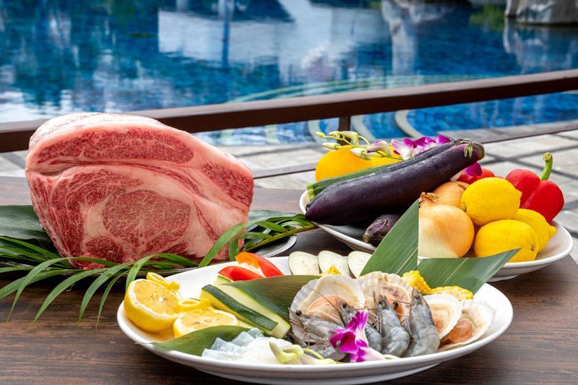 【スタンダード】旬の味覚を存分に。料理長自慢のディナーを堪能!選べる夕食付プラン