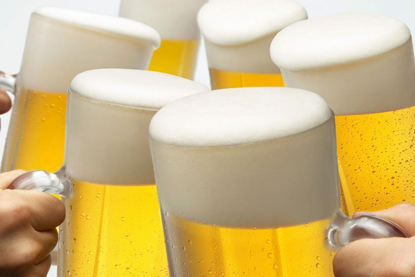 【飲み放題】アルコール飲み放題付プラン 1泊2食付 飲み放題90分付。冷たく冷えてます。ビール・日本酒・チューハイなど全20種類。