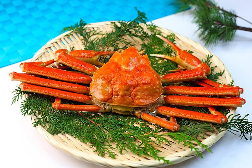 【別注料理】夕食バイキングにもう一品、9月10月限定!地物 香住蟹 大人のお客様に丸ごと1杯付プラン