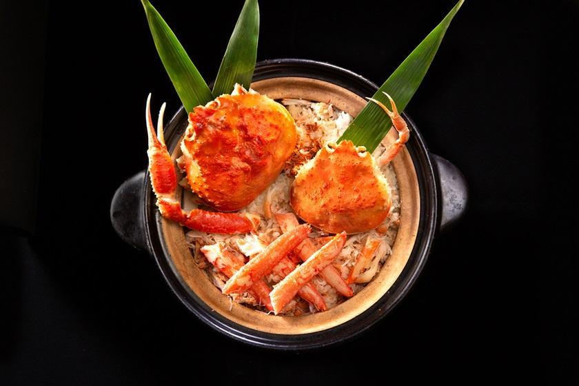 【HPD REWARD会員限定プラン】絶品!ズワイ蟹と香箱蟹の土鍋ご飯