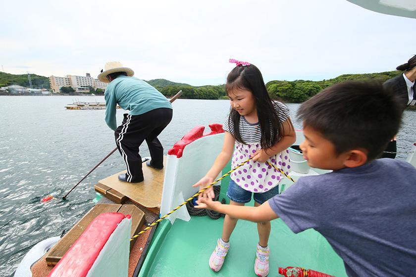 【平日】【英虞湾かご漁体験】翌朝9:30発 ★1泊2食バイキングプラン