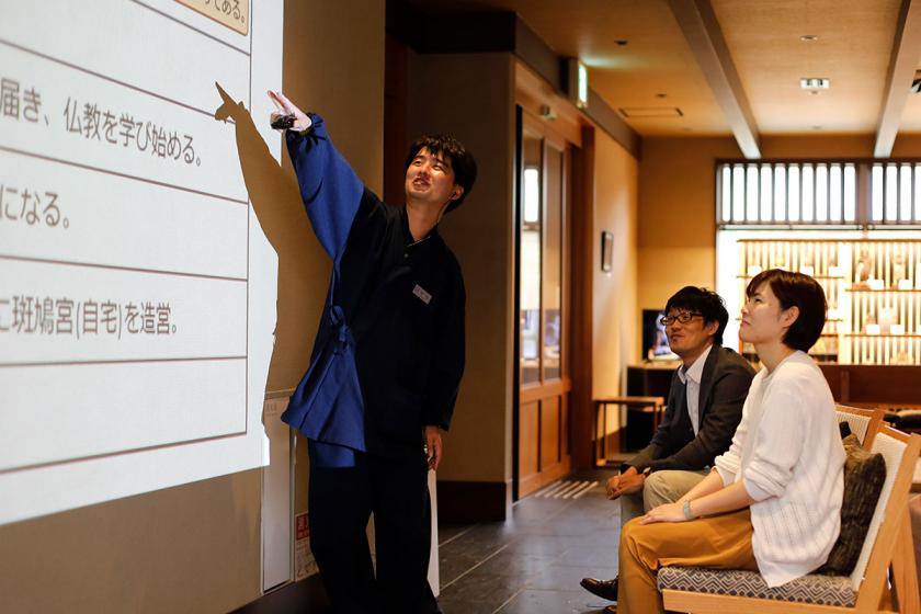 古都奈良お手軽旅プラン 名物語り部が案内する法隆寺ツアーを堪能 こだわり和朝食で目覚める<1泊朝食付>