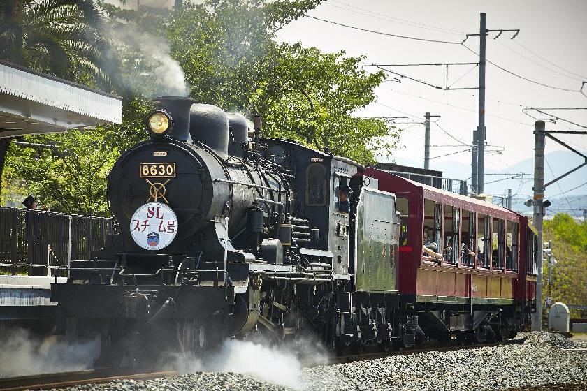 京都鉄道博物館入場券+鉄道グッズ付プラン~朝食付~