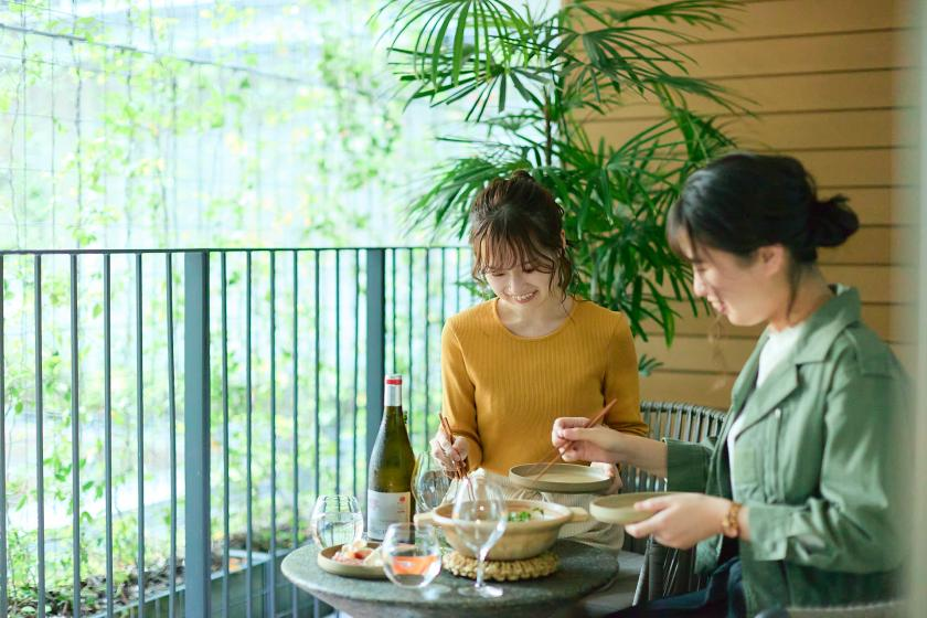 [Hyssop In-Room Dining] For a stay at Omomori. With a set menu of main dishes that you can choose from 3 types <In-house ticket 2000 yen & breakfast included>