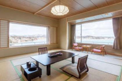 【Ocean side corner room Japanese style room (15 tatami)】 East wing