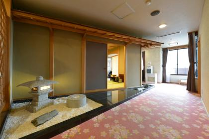 新館 貴賓室 【 平成 】 露天風呂付き ツイン+12畳【喫煙可】