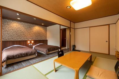和洋室8畳+ツインベッド(バスルーム無)
