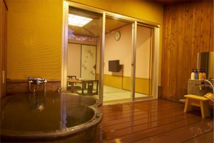 露天風呂付き和室6畳【喫煙OK、トイレ/洗面所なし】