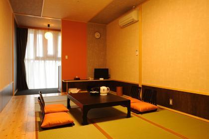 和モダン客室7.5畳【禁煙、バスルームなし】