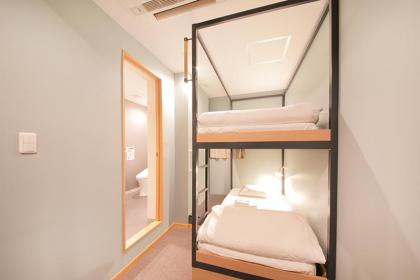 Private room (up to 2 people) with shower and toilet