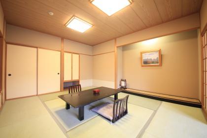 【禁煙】和室10畳+6畳 (眺望庭・低層階)