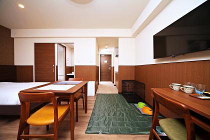 ペットと泊まれるお部屋◆コンドミニアムツインルーム