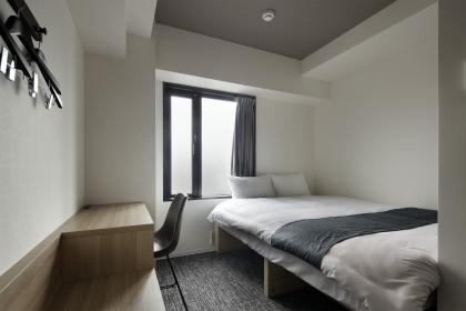 個室 ダブルルーム (シャワー・トイレ付) シングル利用